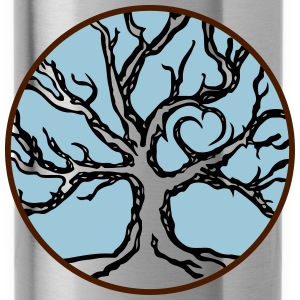 celtic love tree - Trinkflasche