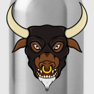 Minotaur Head T-Shirts - Water Bottle