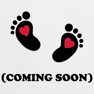 Baby - coming soon T-Shirts - Kochschürze