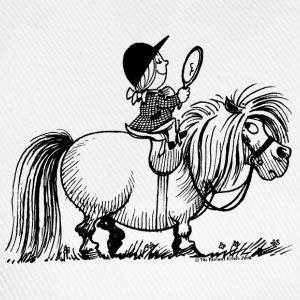 Thelwell Pony 'Penelope with mirror' - Baseball Cap