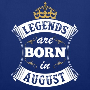Legends Are Born In August T-Shirts - Tote Bag