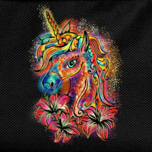 Unicorn, rainbow, fantasy, magic, horse, pony Hoodies & Sweatshirts - Kids' Backpack