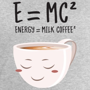 E = MC² - Energy = Milk Coffee² T-Shirts - Men's Sweatshirt by Stanley & Stella