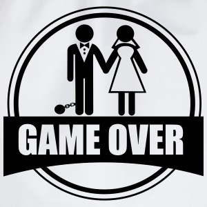 Game Over - couples - Drawstring Bag