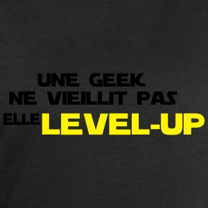 une geek ne vieillit pas elle Level up - Sweat-shirt Homme Stanley & Stella