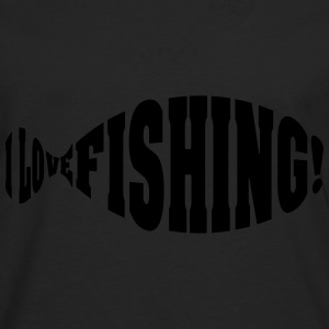 i love fishing Hoodies - Men's Premium Longsleeve Shirt