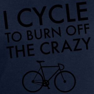 I Cycle To Burn Off The Crazy T-Shirts - Men's Sweatshirt by Stanley & Stella