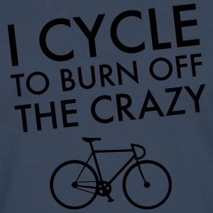 I Cycle To Burn Off The Crazy T-Shirts - Men's Premium Longsleeve Shirt
