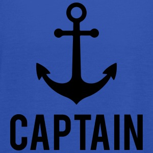 Captain Anchor T-Shirts - Women's Tank Top by Bella