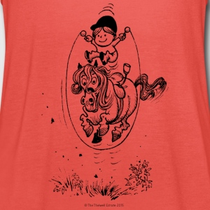 Thelwell Pony with skipping rope - Women's Tank Top by Bella