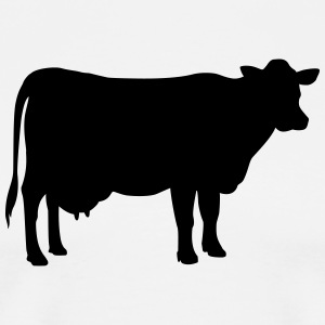 Cow  Aprons - Men's Premium T-Shirt
