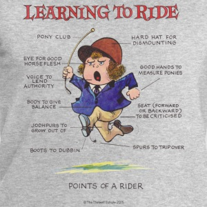 Thelwell Learning to ride - Men's Sweatshirt by Stanley & Stella