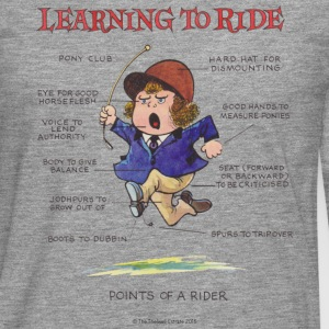 Thelwell Learning to ride - Men's Premium Longsleeve Shirt