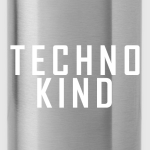 Techno Kind Cap Snapback - Trinkflasche