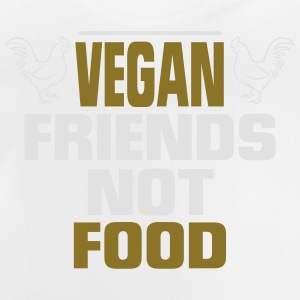 VEGAN FRIENDS - NO FOOD! Shirts - Baby T-Shirt