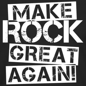 Make Rock Great Again - White T-Shirts - Männer Premium Langarmshirt