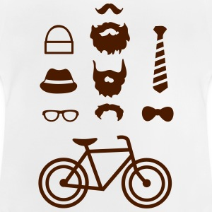 Hipster outfit T-shirts - Baby-T-shirt