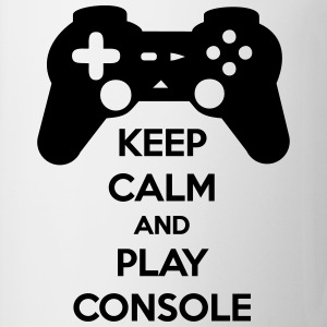 T-shirt Keep Calm And Play Console - Tasse