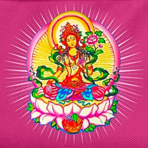Tara - Tibet Buddhism, Lotus, Meditation, Yoga, Om - Kids' Backpack