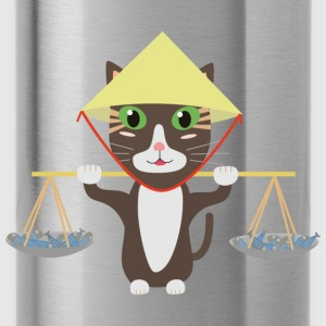 Vietnamese cat Shirts - Water Bottle
