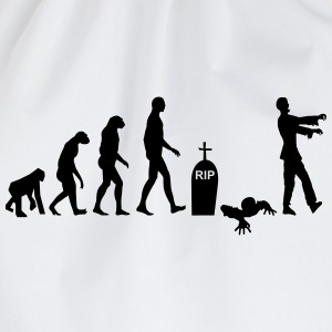 T-shirt Nerd Zombie Evolution - Turnbeutel