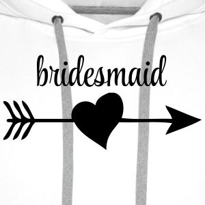 Bridesmaid T-Shirts - Men's Premium Hoodie