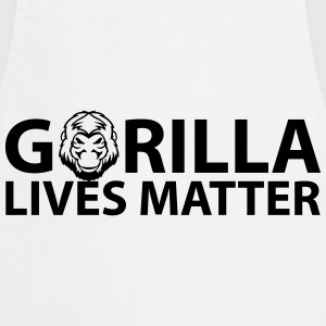 Gorilla Lives Matter T-Shirts - Cooking Apron