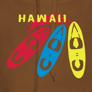 hawaii_3boards_vec_3fr Tee shirts - Sweat-shirt à capuche Premium pour femmes