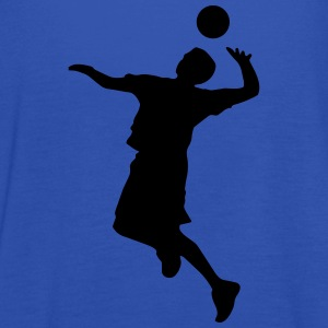 Volleyballer Silhouette Frauen T-Shirt - Frauen Tank Top von Bella