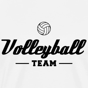 Volleyball Team Hoodies & Sweatshirts - Men's Premium T-Shirt