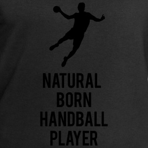 Natural born handball player Strampler - Männer Sweatshirt von Stanley & Stella