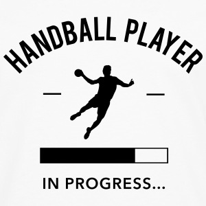 Handball player loading T-Shirts - Men's Premium Longsleeve Shirt