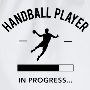 Handball player in progress - Turnbeutel