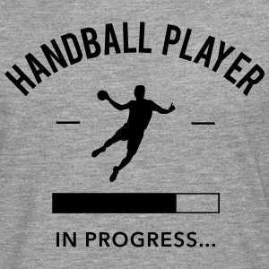 Handball player loading Tee shirts - T-shirt manches longues Premium Homme