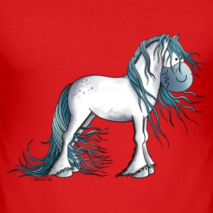 Fantasy Horse Baby Bodysuits - Men's Slim Fit T-Shirt