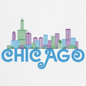 Chicago Skyline T-shirts - Forklæde