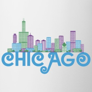 Chicago Skyline T-shirts - Kop/krus