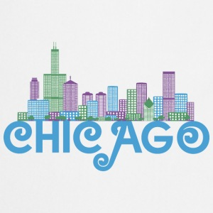 Chicago Skyline Shirts - Cooking Apron