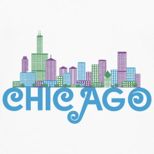 Chicago Skyline Shirts - Men's Premium Longsleeve Shirt
