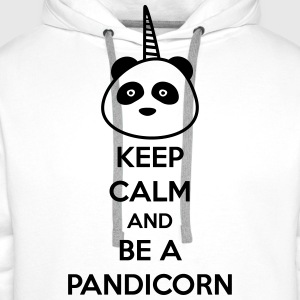 Keep calm and be a pandicorn - Men's Premium Hoodie