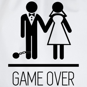 Game Over - Hen party - Drawstring Bag