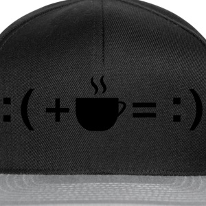 Formula For Happiness (Coffee) T-Shirts - Snapback Cap