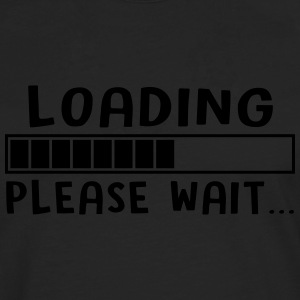 loading please wait - T-shirt manches longues Premium Homme