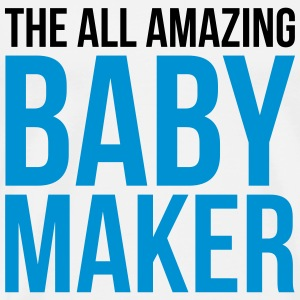 Amazing Baby Maker Funny Quote Toppe - Herre premium T-shirt