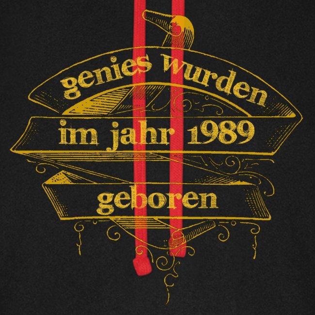 Genies wurden im Jahr 1989 geboren