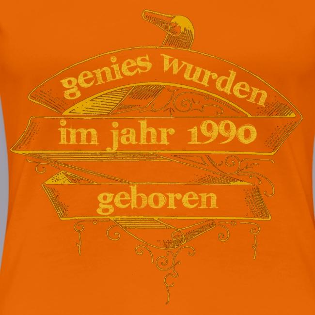 Genies wurden im Jahr 1990 geboren