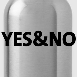 yesno T-Shirts - Water Bottle