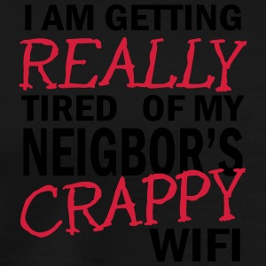i am getting really tired of my neigbor's wifi 2c Sportkläder - Premium-T-shirt herr