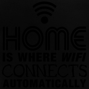 home is where the wifi connects automatically II Shirts - Baby T-shirt