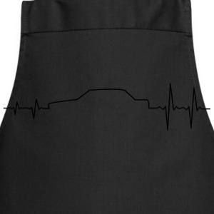 BMW E30 Sportscar Pulse T-Shirts - Cooking Apron